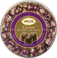 """Bombon Valor """"Cream"""" Chocolate con Leche 165gr - Comprar comida Española"""