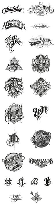 #Handdrawn #logotype