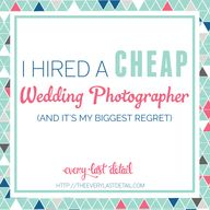 I Hired A Cheap Wedd