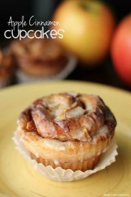 Apple Cinnamon Cupca