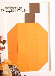 Easy Pumpkin Craft I