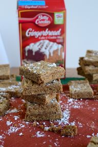 Gingerbread Brownies