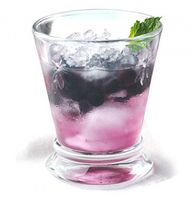 Blueberry Mint Julep