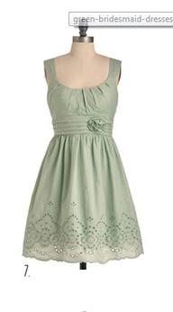 mint green dress:  $...