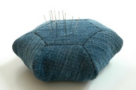 OLD JEANS PINCUSHION