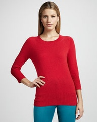 Basic Cashmere Sweat