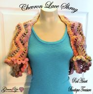 Chevron Lace Shrug