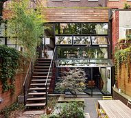 A duplex home with a