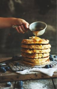 blueberry pancake |