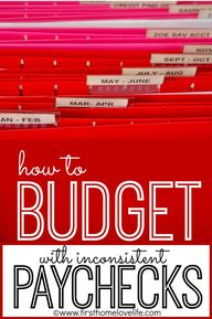 How To Budget When P