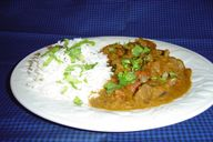 Indian Lamb Curry. P