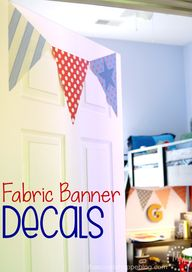 Fabric Banner Decals