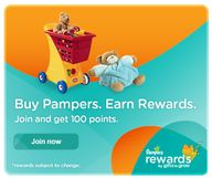 New Pampers Rewards