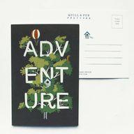 Adventure Postcard -