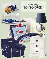 Go go green! Here ar