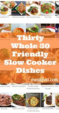 30 Slow Cooker Dishe