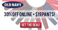 Old Navy: 30% Off On