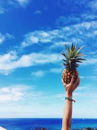 Pineapple in the sky