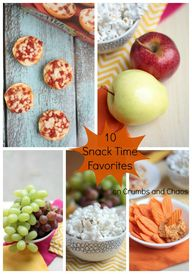 10 Snack Time Favori