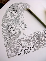 Love the doodles tha
