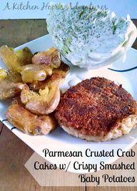 Parmesan Crusted Cra