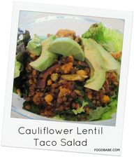 Cauliflower Lentil T