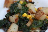 Potato And Kale Skil