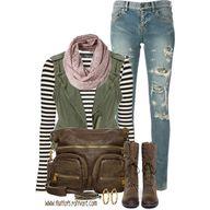 fall fashion, create...