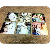 DIY Photo Coasters f