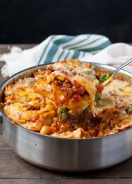 Cheesy Tex-Mex Enchi