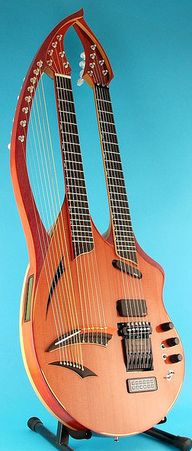 Will Eaton electric harp guitar