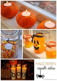 Halloween Candles -