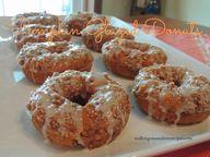 Pumpkin Glazed Donut