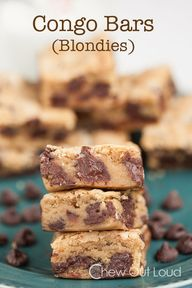 Congo Bars (Blondies