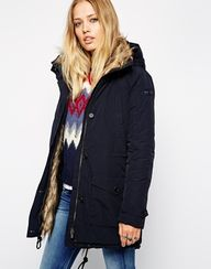 Pepe Jeans Parka wit