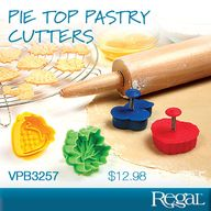 PIE TOP PASTRY CUTTE