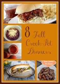 8 Fall Crock Pot Din