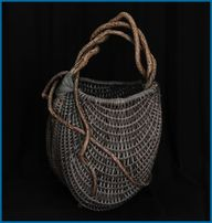 hand woven basket by