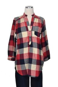 Fall Flannel Top - R