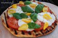 Grilled margherita p