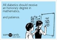All diabetics should
