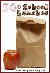 over 50 school lunch