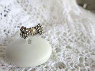 Silver Bowknot ring