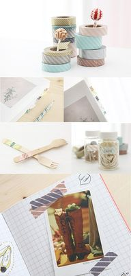 Washi Tape School /
