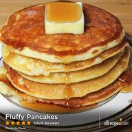 Fluffy Pancakes ...