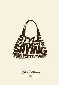Fashion Quotes by David Ellis, via Behance
