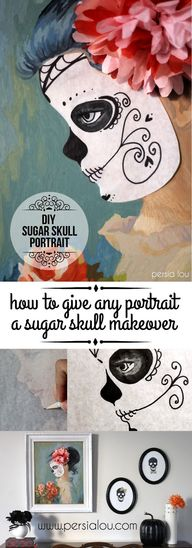 DIY Sugar Skull Port