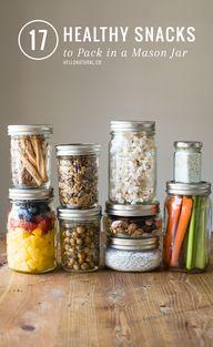 17 Healthy Mason Jar