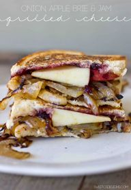 Apple Brie Onion and