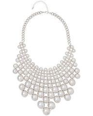 Silver Bea Collar